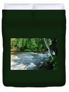 Lower Tahquamenon Falls Duvet Cover
