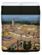 Lucca Italy Duvet Cover