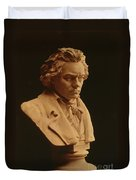 Ludwig Van Beethoven, German Composer Duvet Cover