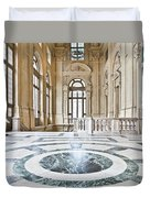 Luxury Interior In Palazzo Madama, Turin, Italy Duvet Cover