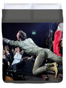 Lysol At Fifth Annual David Bowie Birthday Bash Duvet Cover