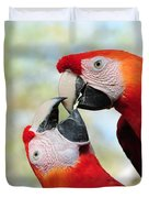 Macaws Duvet Cover