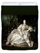 Madame De Pompadour Duvet Cover by Francois Boucher