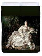 Madame De Pompadour Duvet Cover