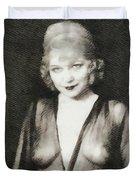 Mae West, Vintage Actress Duvet Cover
