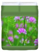 Magenta Wildflower Duvet Cover