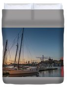 Magic Sky In Baltimore Duvet Cover