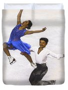 Maia Shibutani And Alex Shibutani  Duvet Cover