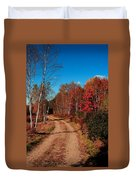 Maine October Duvet Cover