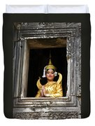 Makala Dancer In Cambodia Duvet Cover