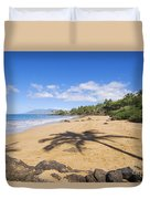 Makena, Changs Beach Duvet Cover