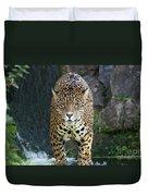 Male Leopard Duvet Cover