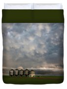 Mammatus Storm Clouds Duvet Cover