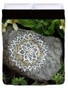 Mandala Stone  Duvet Cover