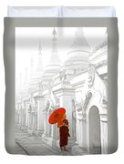 Mandalay Monk Duvet Cover