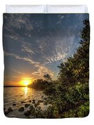 Mangrove Sunrise Duvet Cover