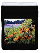 Manitoulin Shores Duvet Cover