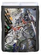Many Bikes Duvet Cover
