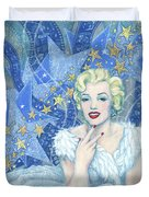 Marilyn Monroe, Old Hollywood Series Duvet Cover