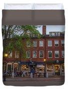 Market Square Duvet Cover