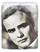 Marlon Brando Duvet Cover