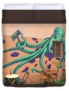 Marseille Street Art, Le Panier And Le Cours Julien Duvet Cover