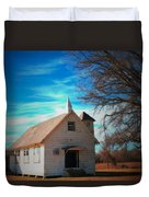 Marsh Berea Church Duvet Cover