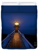 Marshall Point Light Station Duvet Cover