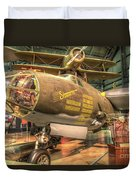 Martin B-26g, Marauder, Shootin In Duvet Cover