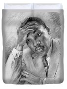 Martin Luther King Jr Duvet Cover