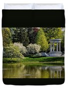 Mary Baker Eddy Memorial Duvet Cover