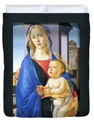 Mary With Baby Jesus Duvet Cover