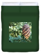 Masterful Construction - Spruce Cone Duvet Cover