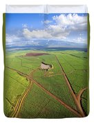 Maui Sugar Cane Duvet Cover