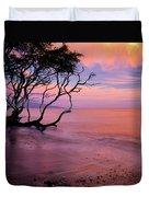 Maui Sunset Duvet Cover