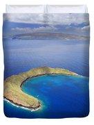 Maui, View Of Islands Duvet Cover