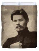 Maxim Gorky Duvet Cover