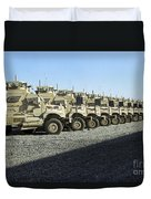 Maxxpro Mine Resistant Ambush Protected Duvet Cover by Stocktrek Images