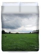 Meadow Near Coswig Duvet Cover
