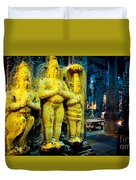 Meenakshi Temple Madurai India Duvet Cover