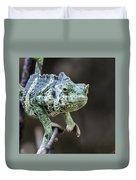 Mellers Chameleon Portrait Duvet Cover