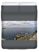 Menorca North Shore From Mongofre Duvet Cover