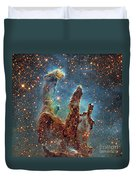 Messier 16, The Eagle Nebula In Serpens Duvet Cover