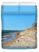 Michigan Beach Duvet Cover