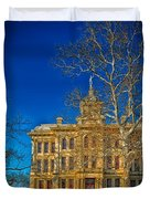 Milam County Courthouse Duvet Cover