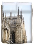 Milan Cathedra, Domm De Milan Is The Cathedral Church, Italy Duvet Cover