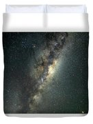Milky Way With Mars Duvet Cover