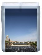 Minneapolis - Saint Anthony Falls Duvet Cover