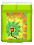 Sunflakes  Duvet Cover