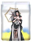 Miss Flirt Duvet Cover